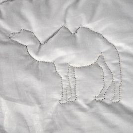 OptiSleep dekbed kameelhaar medium 120x220 cm