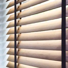 Horizontale jaloezie 50 mm hout